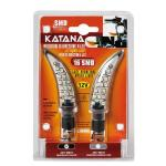 Migavci KATANA Black SMD LED