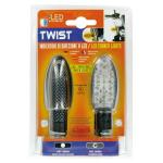 Migavci TWIST Carbon LED