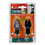 Migavci TUAREG Black LED