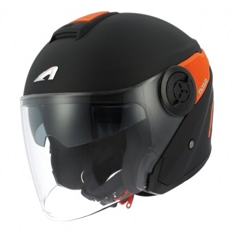 DJ10 Matt Black Orange